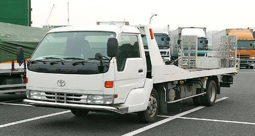 "Toyota Dyna - модель ""Super Low Cab"""
