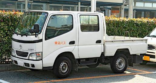 Toyoace «двухкабинник»