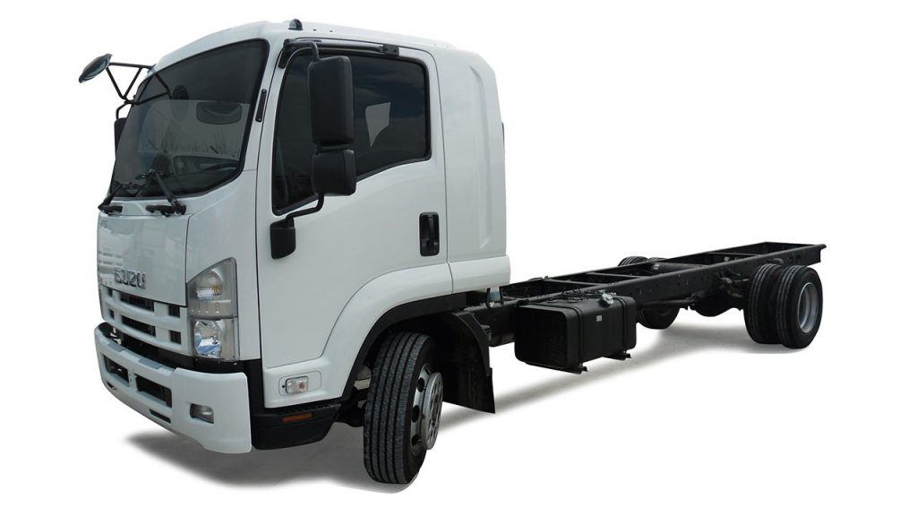 База грузовика Isuzu Forward Juston